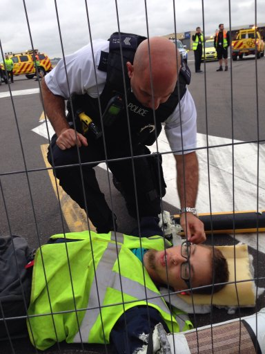Campaigners Arrested After Heathrow Protest