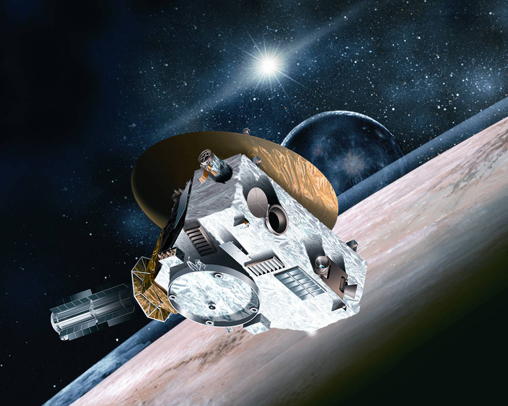 NASA New Horizons misson