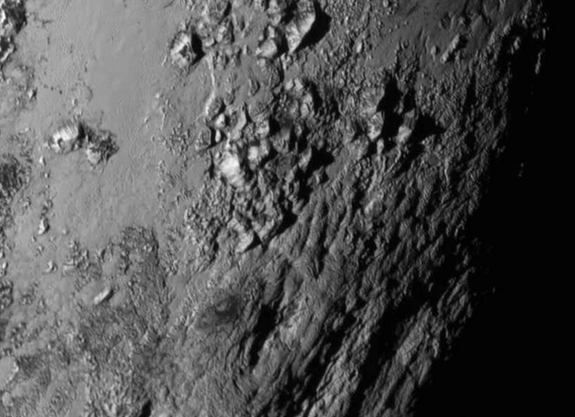 NASA Pluto closeup