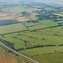 Aerial Shot of Northstowe 2013