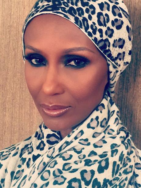 Iman Instagram Beauty Pictures