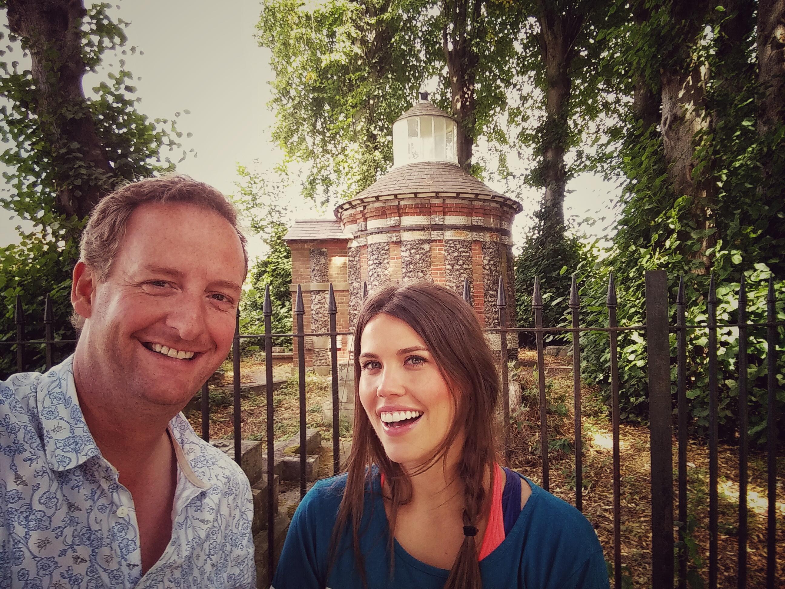 James & Becky A - Z Selfie H