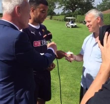 Nic Cruwys On Sky Sports