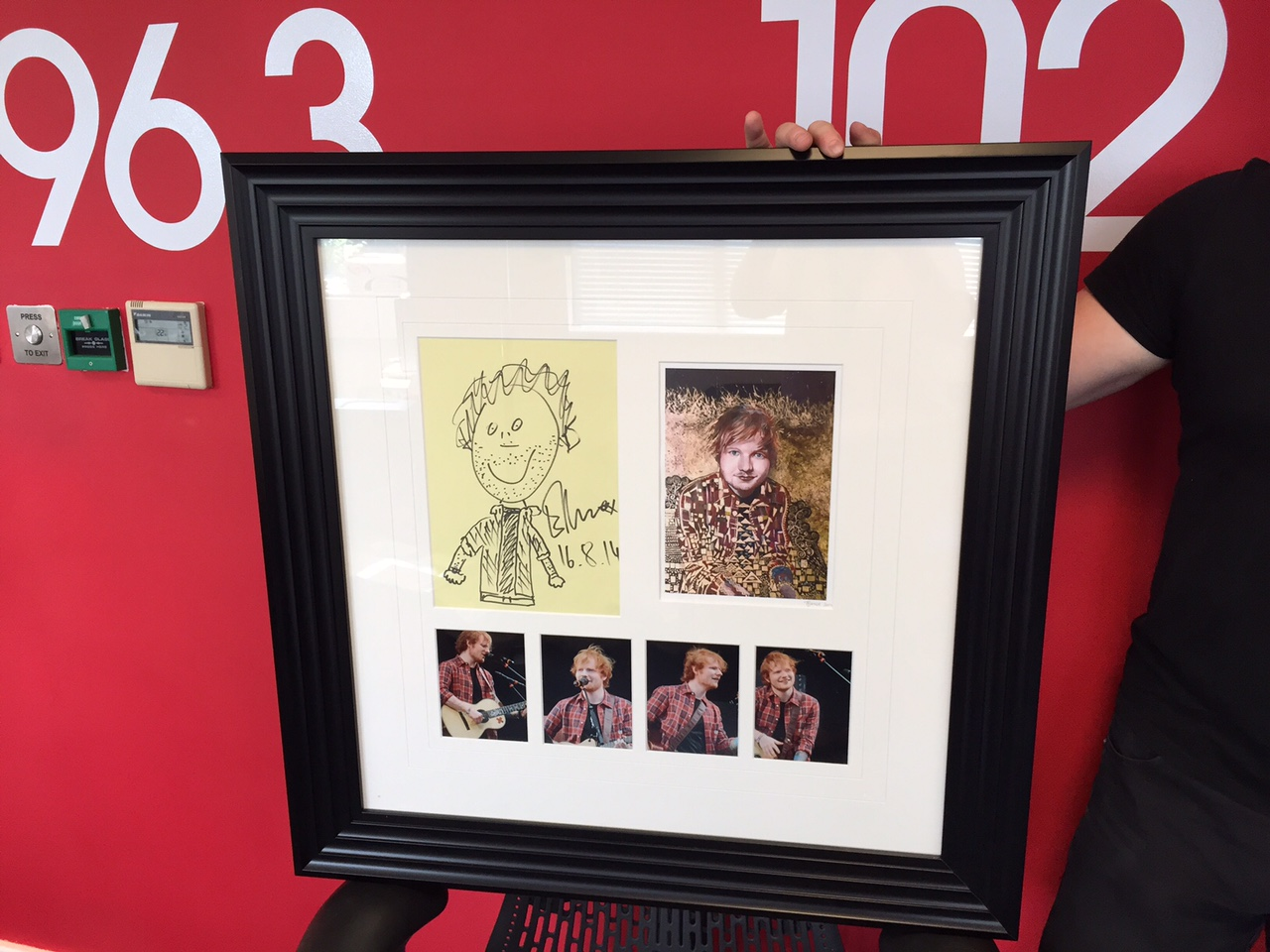 James Wilkinson V-Festival Auction Art