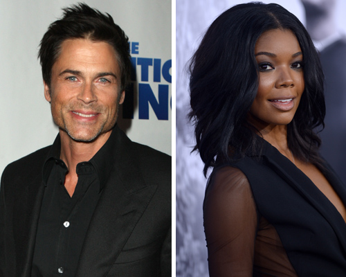 Rob Lowe and Gabrielle Union