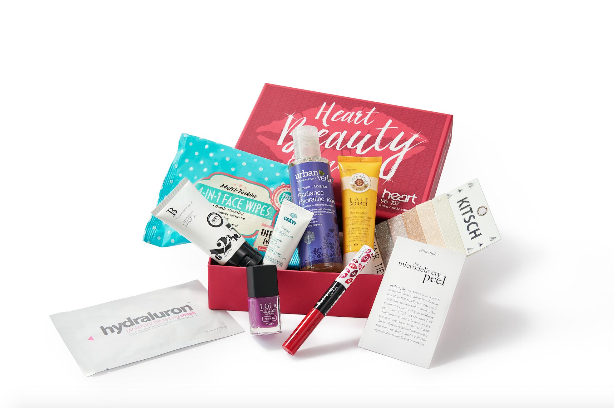 heart beauty box
