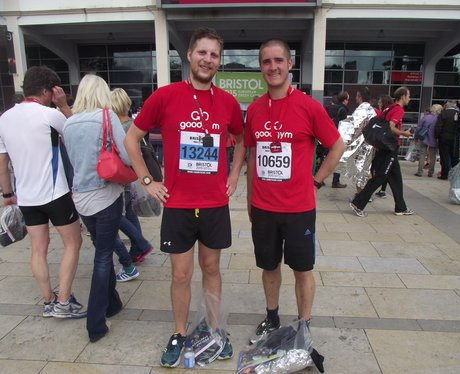 Heart Angels: Bristol Half Marathon 13/09/15 Finis