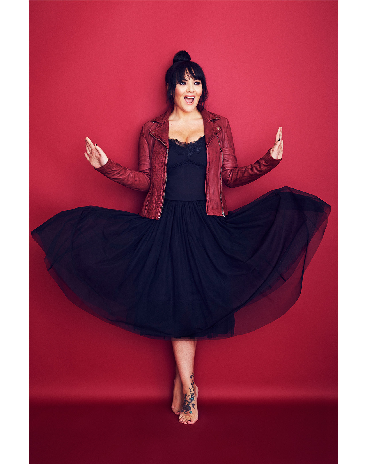 Martine McCutcheon Essentials magazine