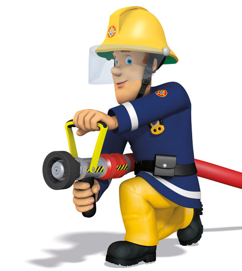 see fireman sam u2019s top fire safety tips and win heart Cartoon Fireman Pole Firefighter Boots Clip Art