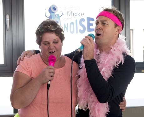 Jason Donovan Karaoke Global Make Some Noise 2015