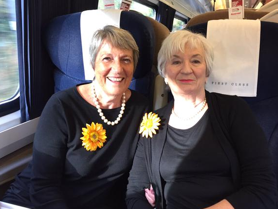 Calendar Girls On The Train