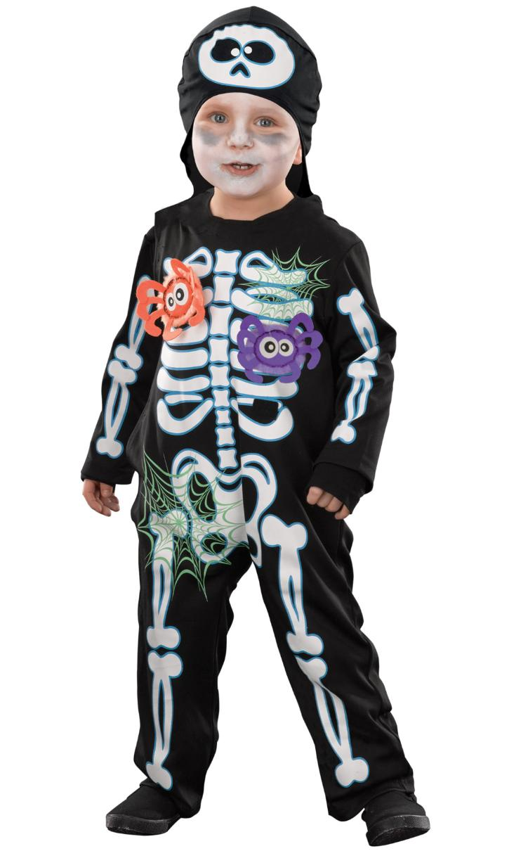 asda skeleton costume halloween pr shot