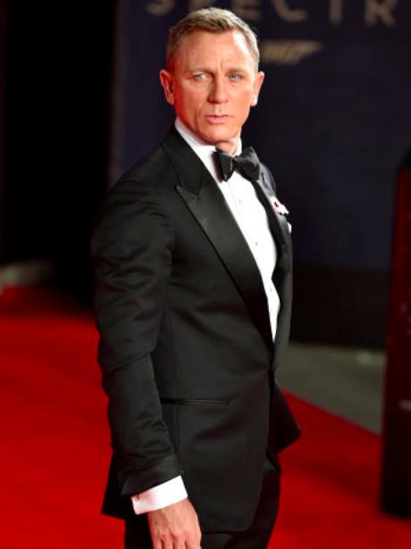 Daniel Craig in a tuxedo