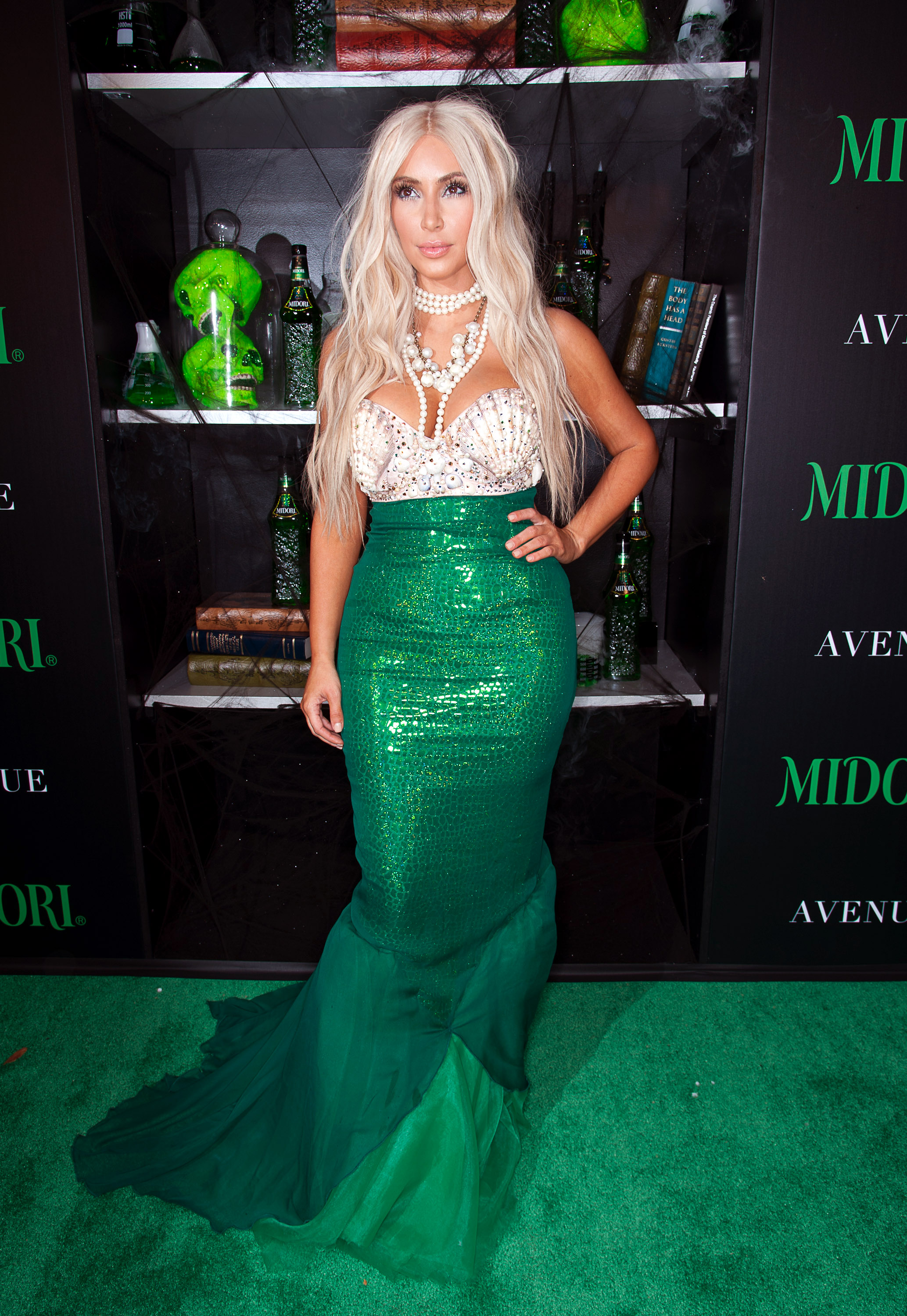 Kim Kardashian mermaid