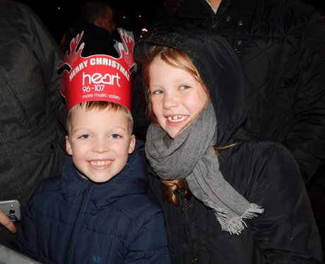 Heart Angels: Bluewater Christmas Light Switch On