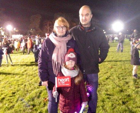 Luton Popes Meadow Fireworks 2015