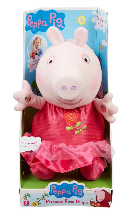 peppa pig toy christmas 2015 pr shot