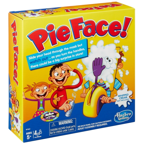 pie face game christmas 2015