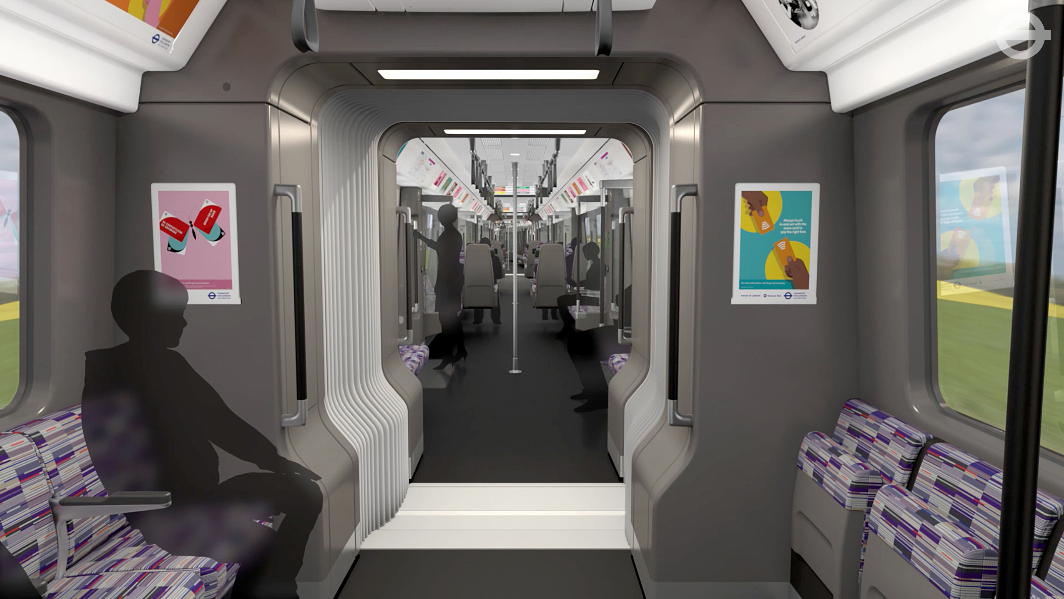 Crossrail train designs revealed heart essex for Interior design apprenticeships london