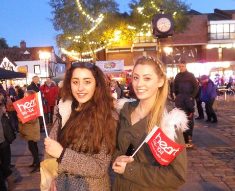 Hitchin Christmas Light Switch On 2015