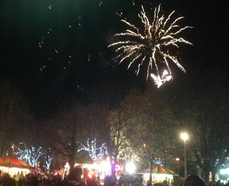 Llanelli's Christmas Carnival: Fireworks and parad