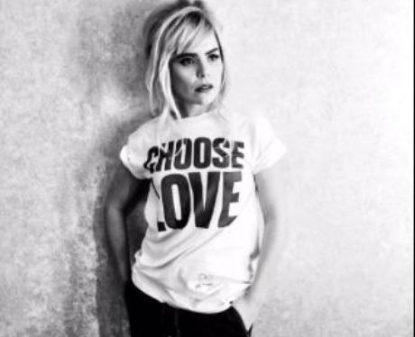 Choose Love T-shirt (White)   Rapanui