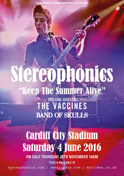 Stereophonics Tour Cardiff
