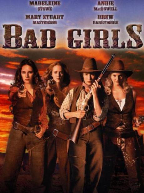 Bad Girls Film Poster Drew Barrymore