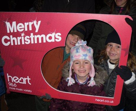Dave Edwards' Christmas Light Switch On- Croxley G