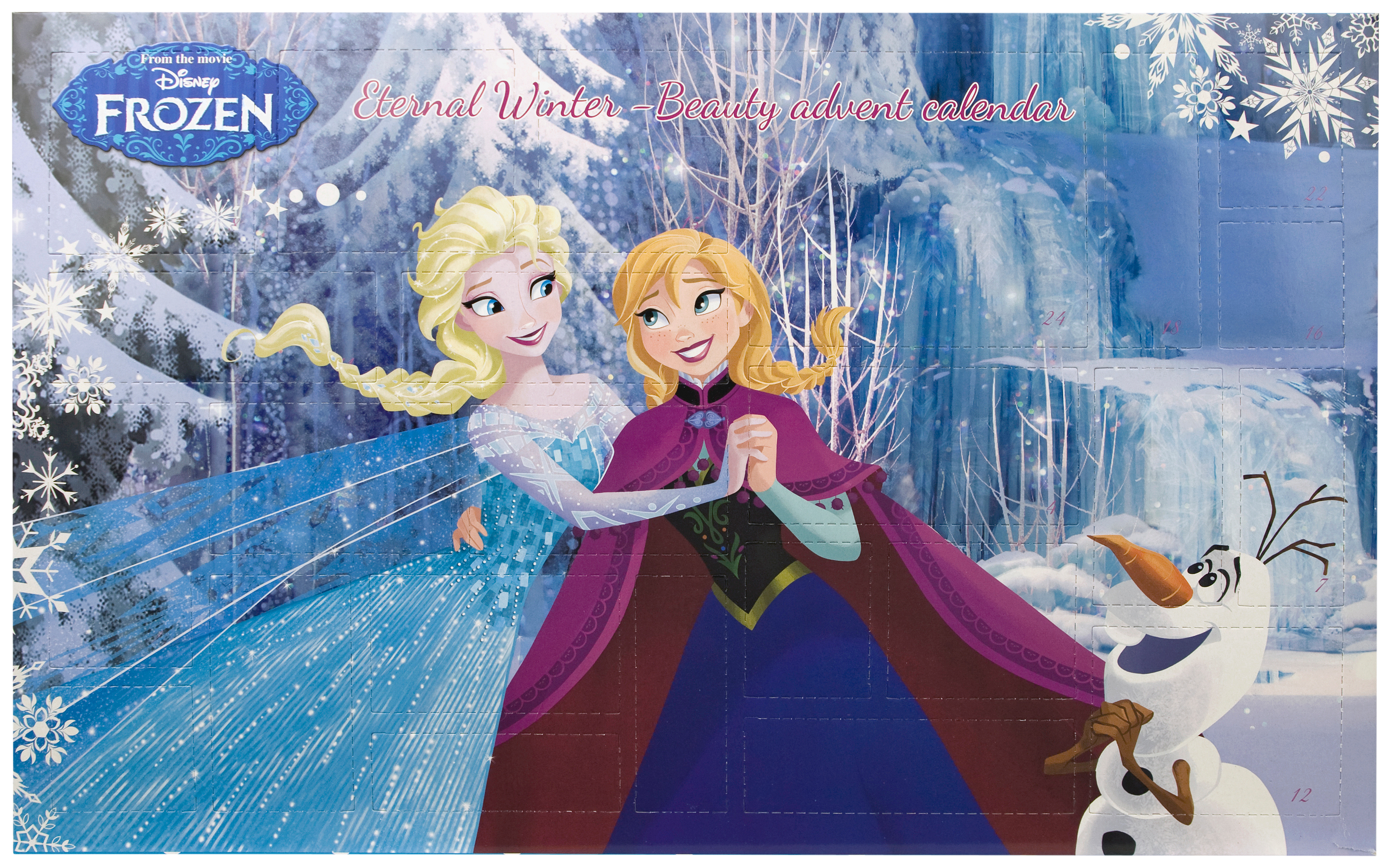 frozen advent calendar