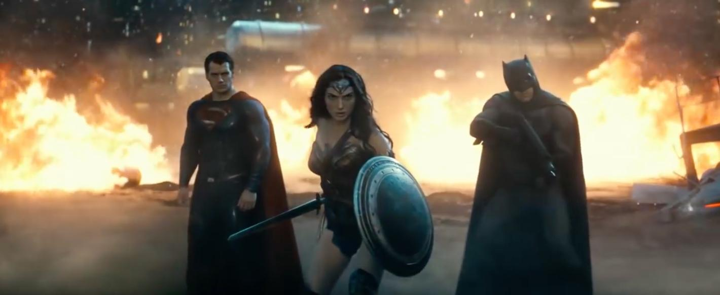 Batman vs Superman: Dawn of Justice trailer screen