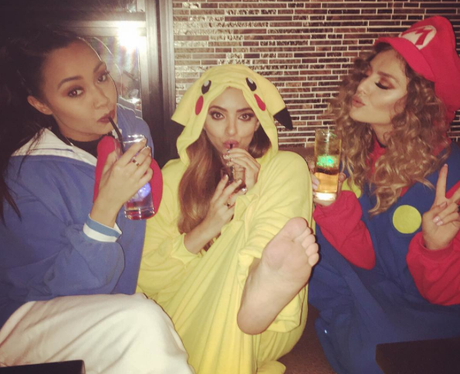 Little Mix dressed up
