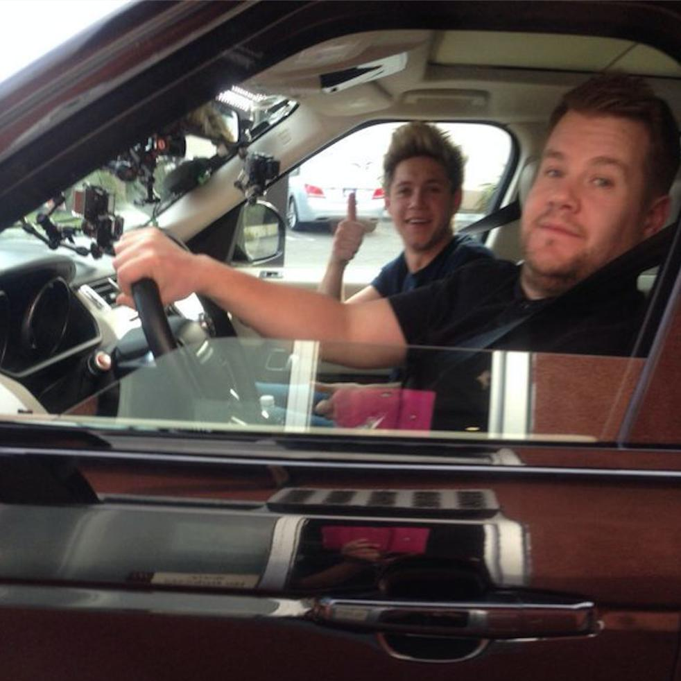 What Car Does James Corden Drive In Car Pool Kareoke