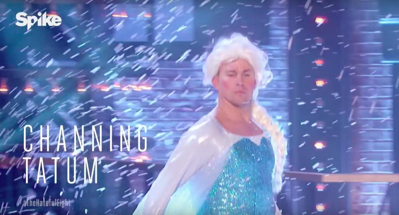 Channing Tatum Dresses...