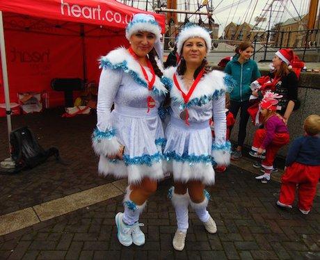 Heart Angels: CHSW Santa Run 13.12.15