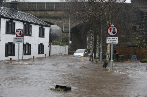 Mytholmroyd flooding Dec 2015