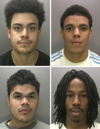 Ladywood Injunctions Collage Birmingham Gang Guns