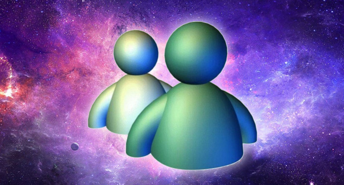 MSN Messenger Header