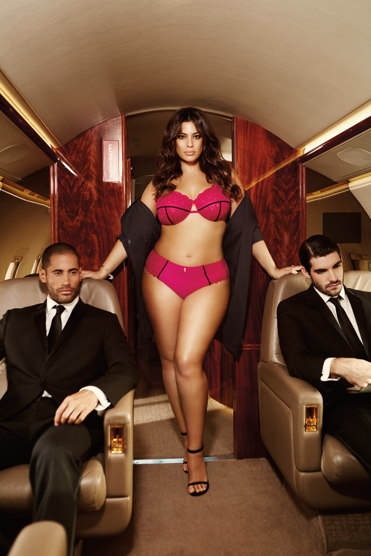 ashley graham lingerie new pr shots
