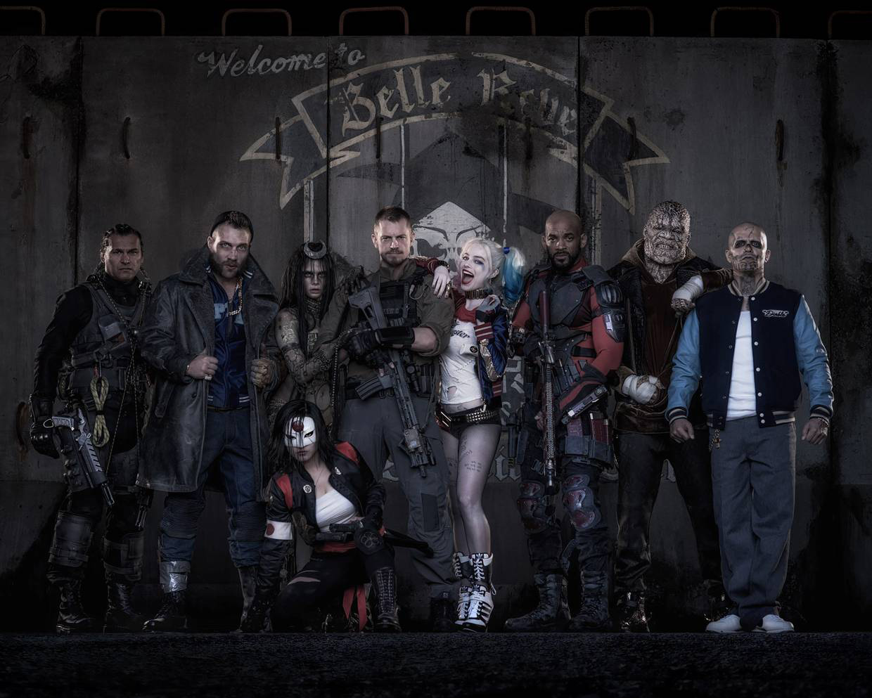 Suicide Squad official photo