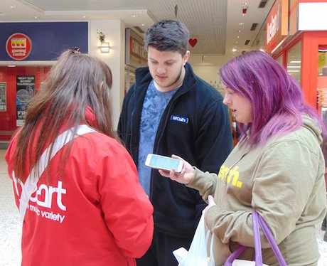 Heart Angels BroadWalk Shopping Centre 13.02.15