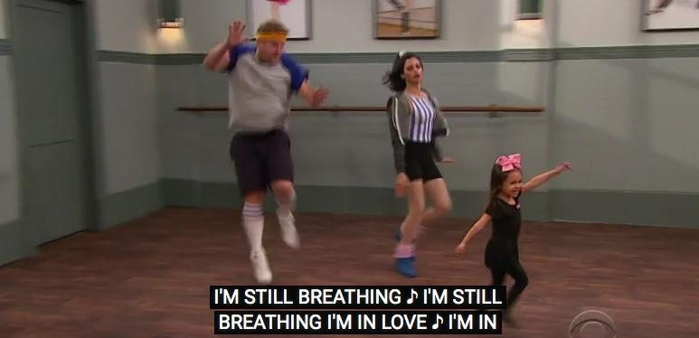 James Corden and Jenna Tatum