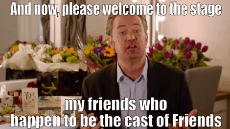 Matthew Perry Friends Reunion