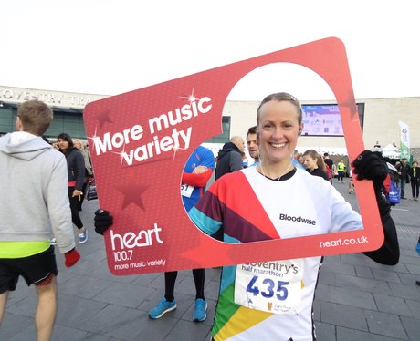 The Coventry Half Marathon - Before The Race!