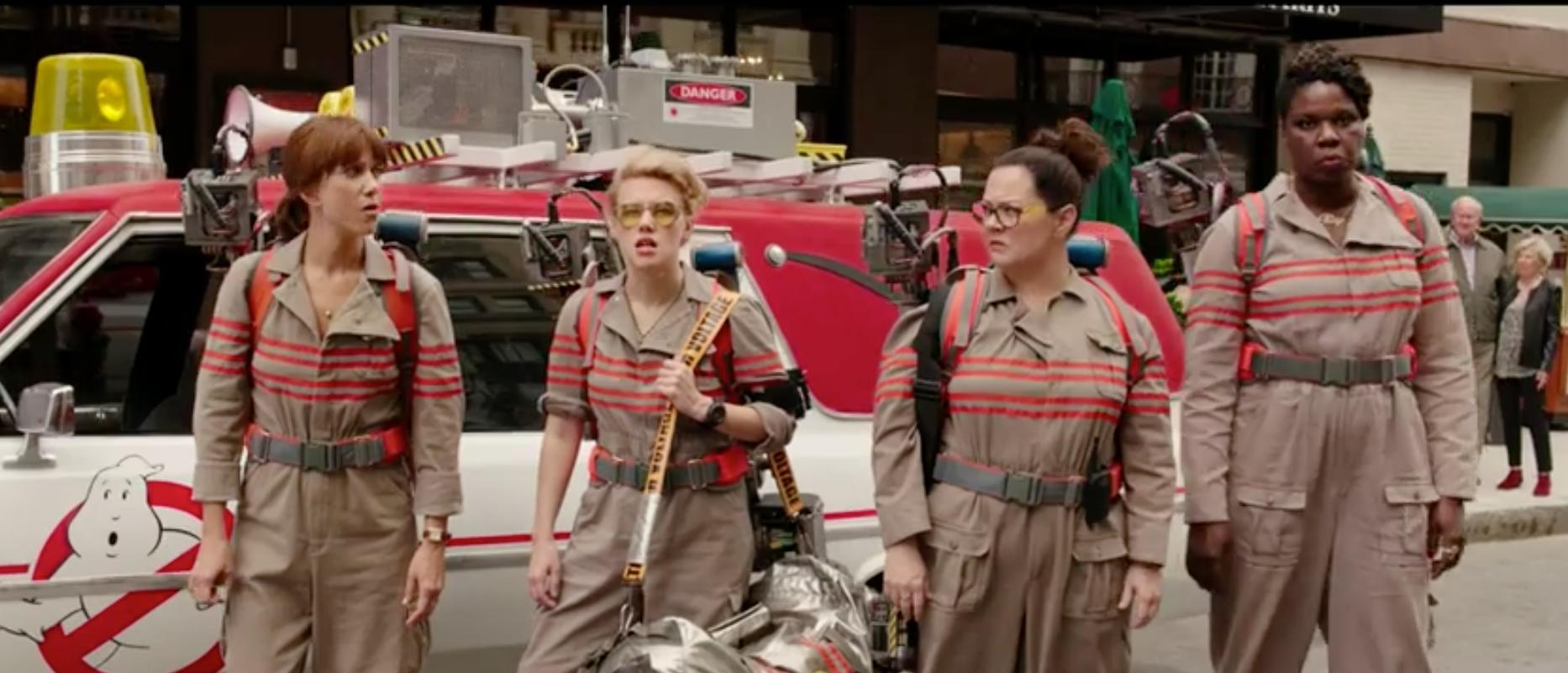 Ghostbusters trailer screen grab