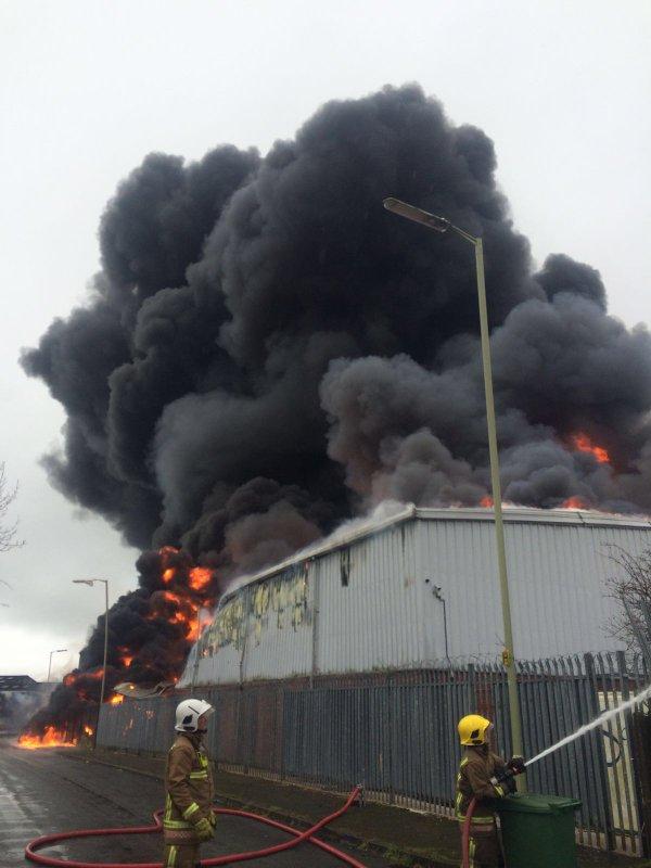 Stafford Fire Astonfields
