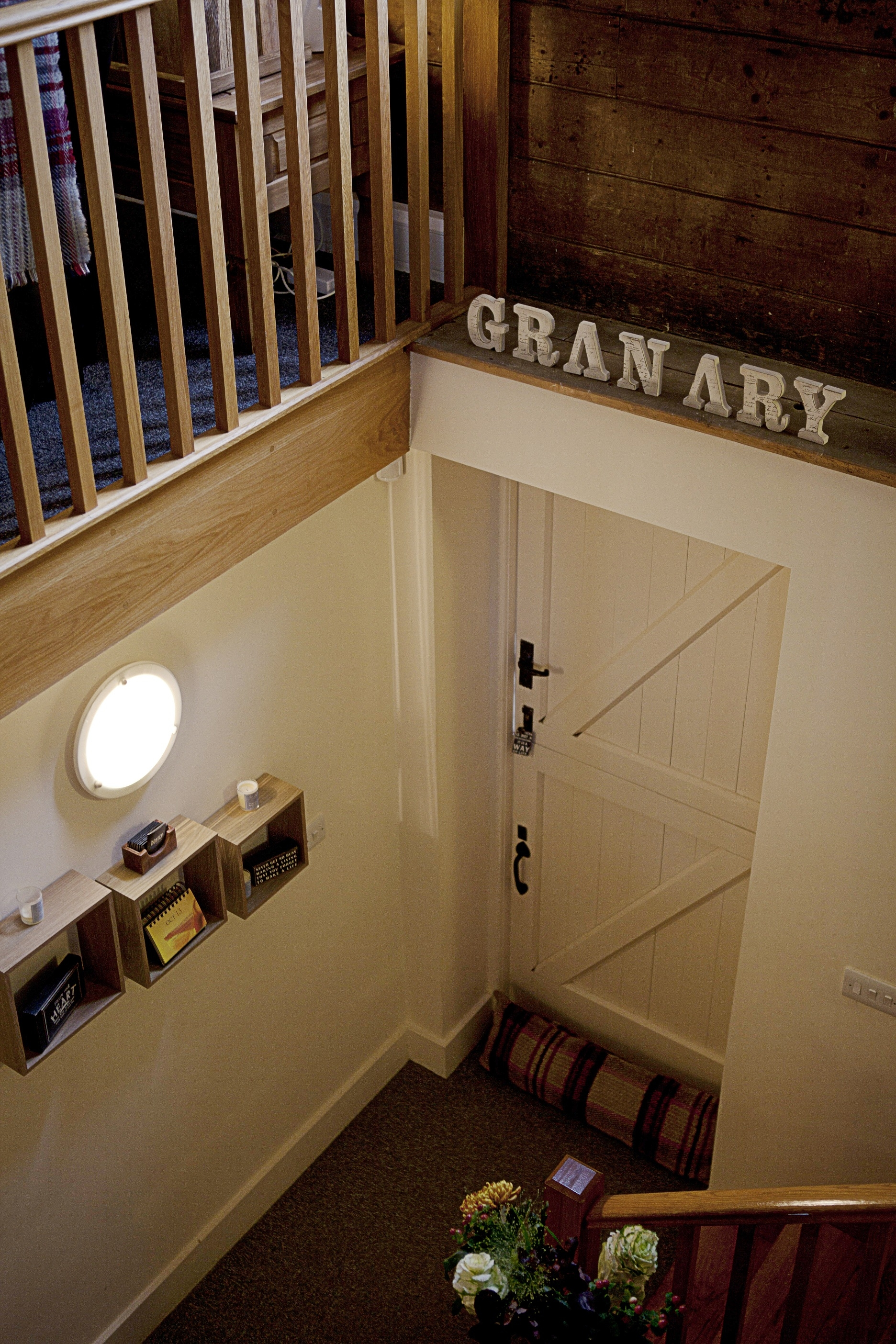 Stairs at The Granary Spa