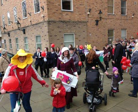 Wrexham St Davids Day Parade 2016