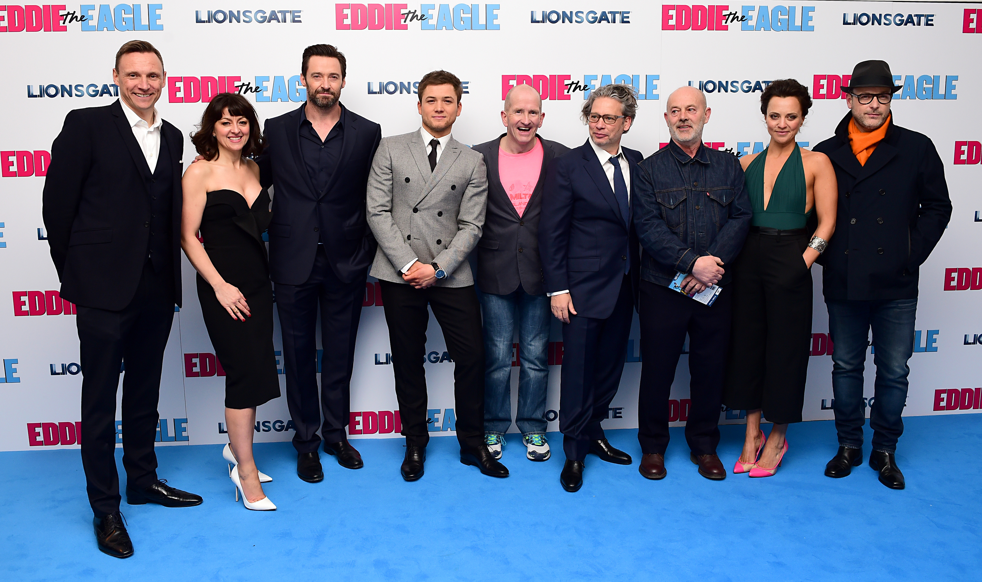 Eddie the Eagle European Premiere - London