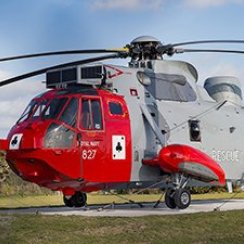 771 Squadron Sea King at RNAS Culdrose